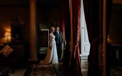 Carton House. Irish Winter Wedding.