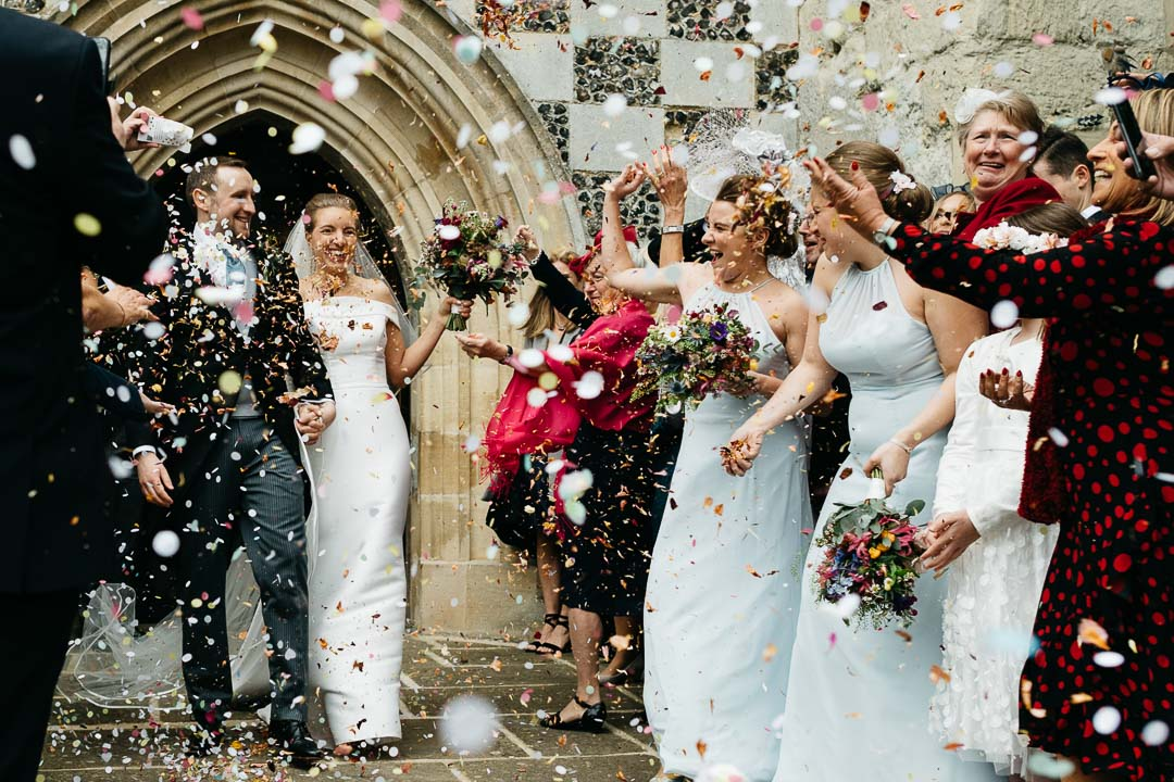 Offley Place Hitchin confetti shower