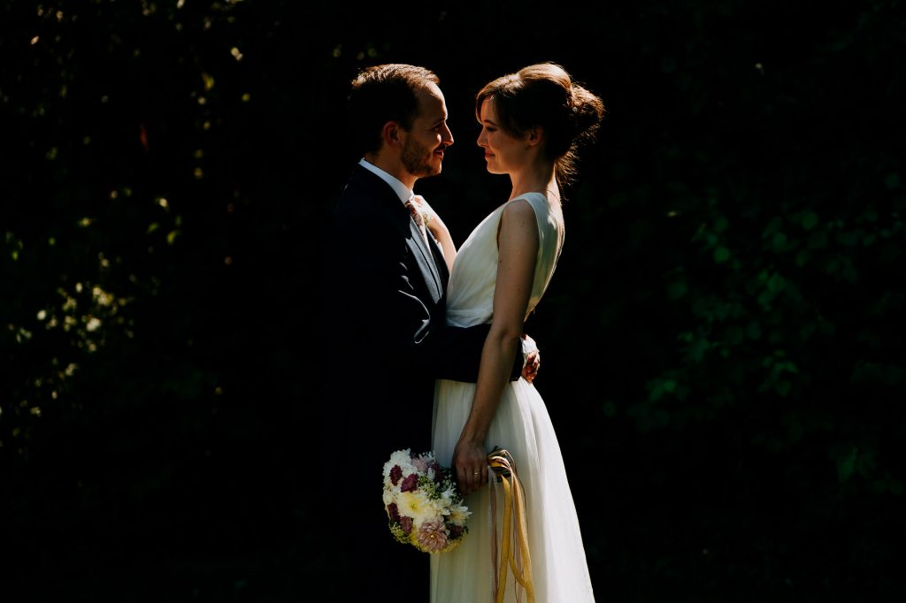 sheene-hill wedding couple portrait Hertfordshire candid wedding photography