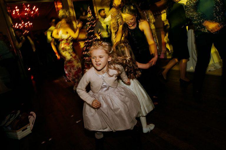 carton house wedding children on dance floor