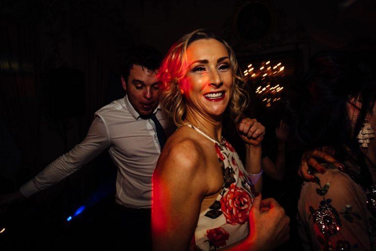 Carton House wedding dance floor frivolity