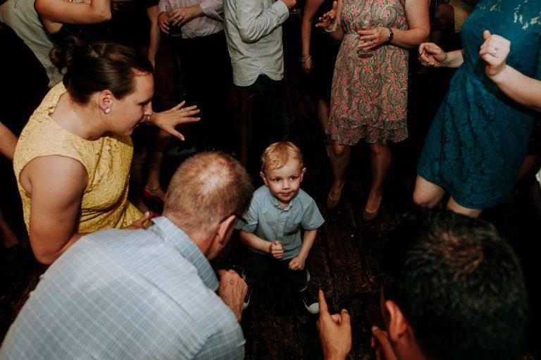 Islington same sex wedding dance floor at Dead Dolls house