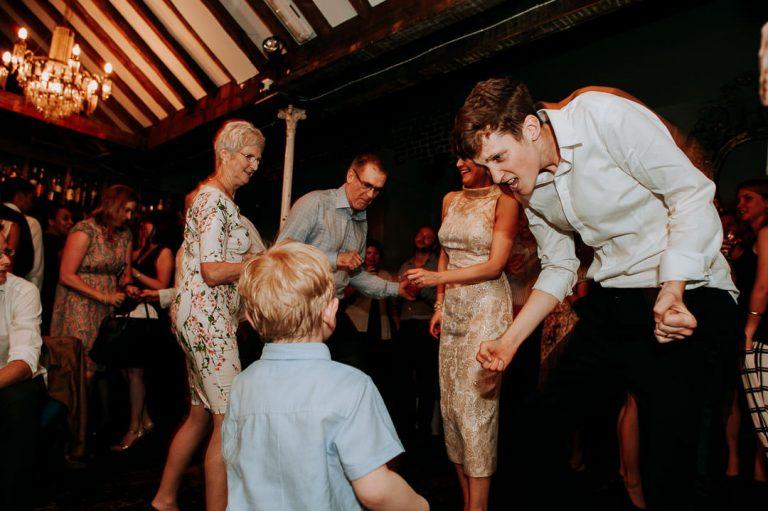 Islington same sex wedding at Dead Dolls house