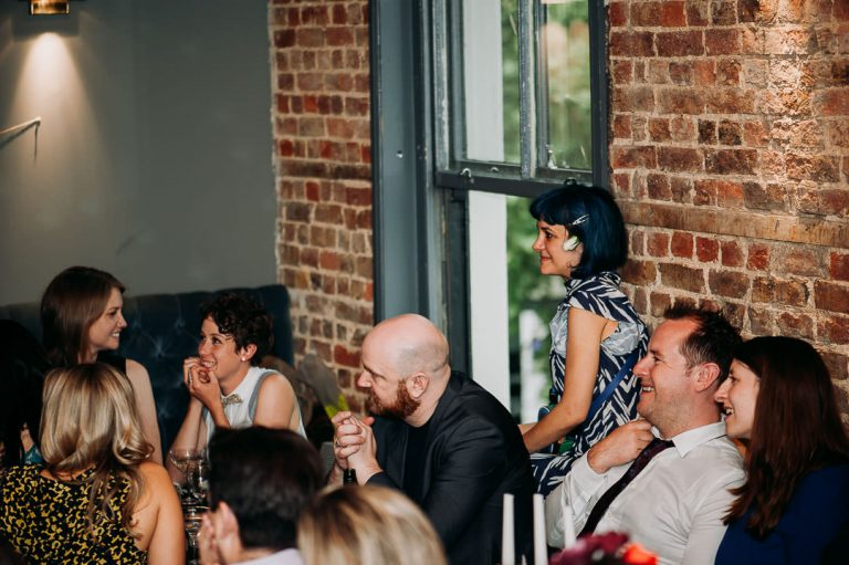Dead Dolls House Islington same sex wedding speeches