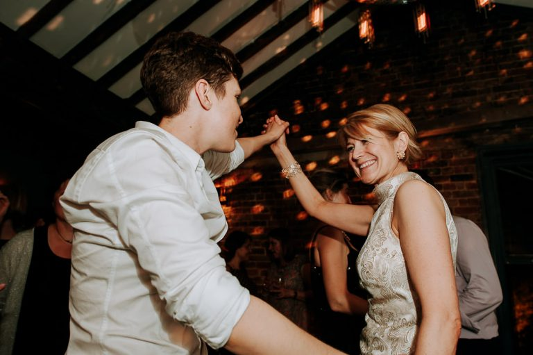 first dance Dead Dolls house same-sex Islington wedding