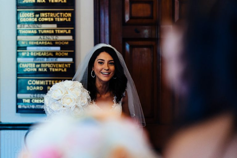 Glenmore House Bride arrival documentary wedding photography
