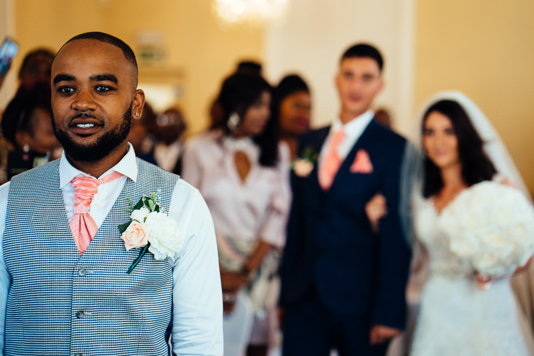 candid wedding photography Glenmore House Surbiton