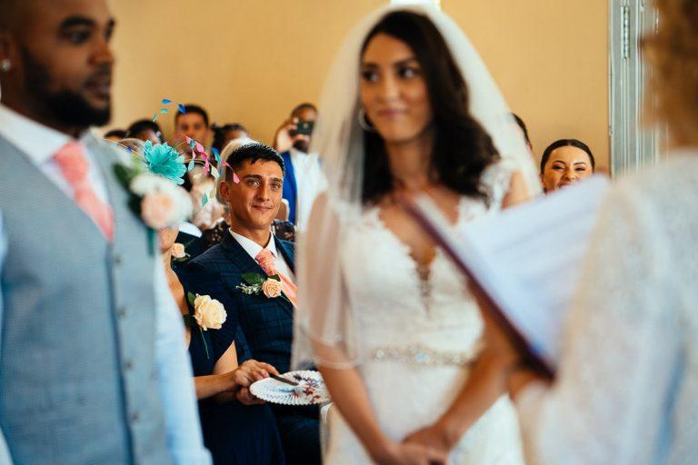Glenmore house wedding ceremony Surbiton