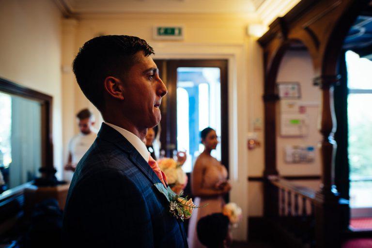 candid wedding photography Glenmore House Surbiton