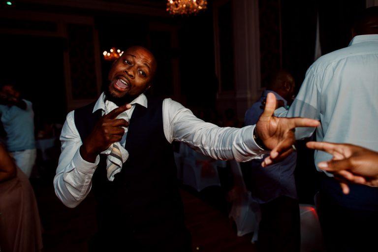 Glenmore House Surbiton wedding dancefloor party