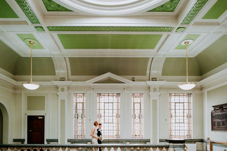 islington town hall interior same sex wedding