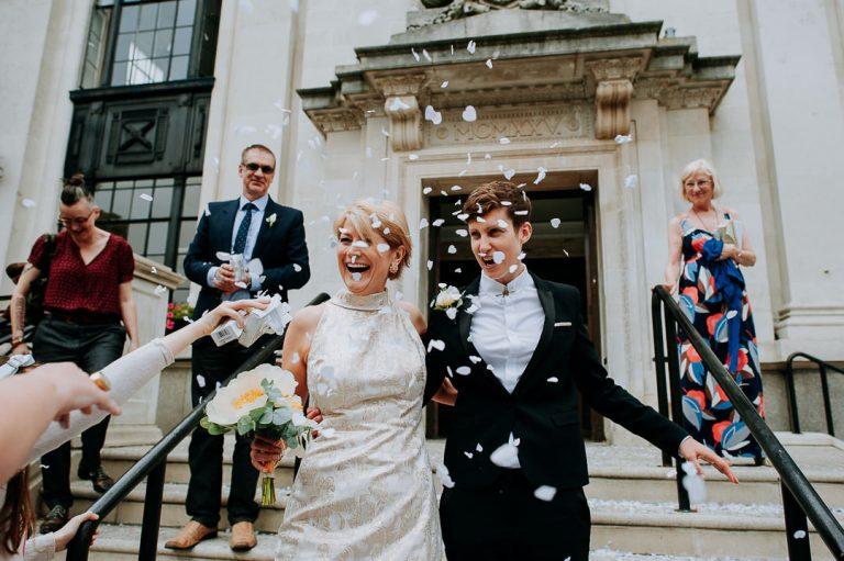 Islington town hall same-sex wedding