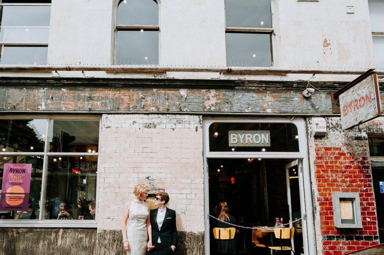 same sex upper street Islington wedding London