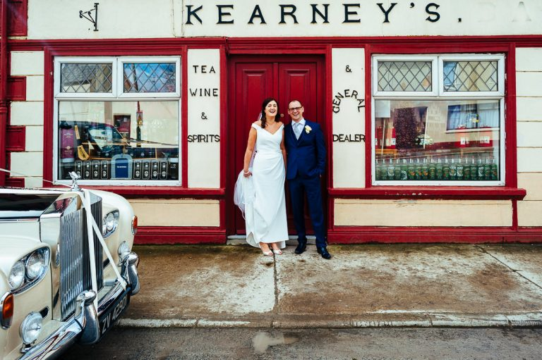 Wild Atlantic way Kerry wedding candid couple portraits