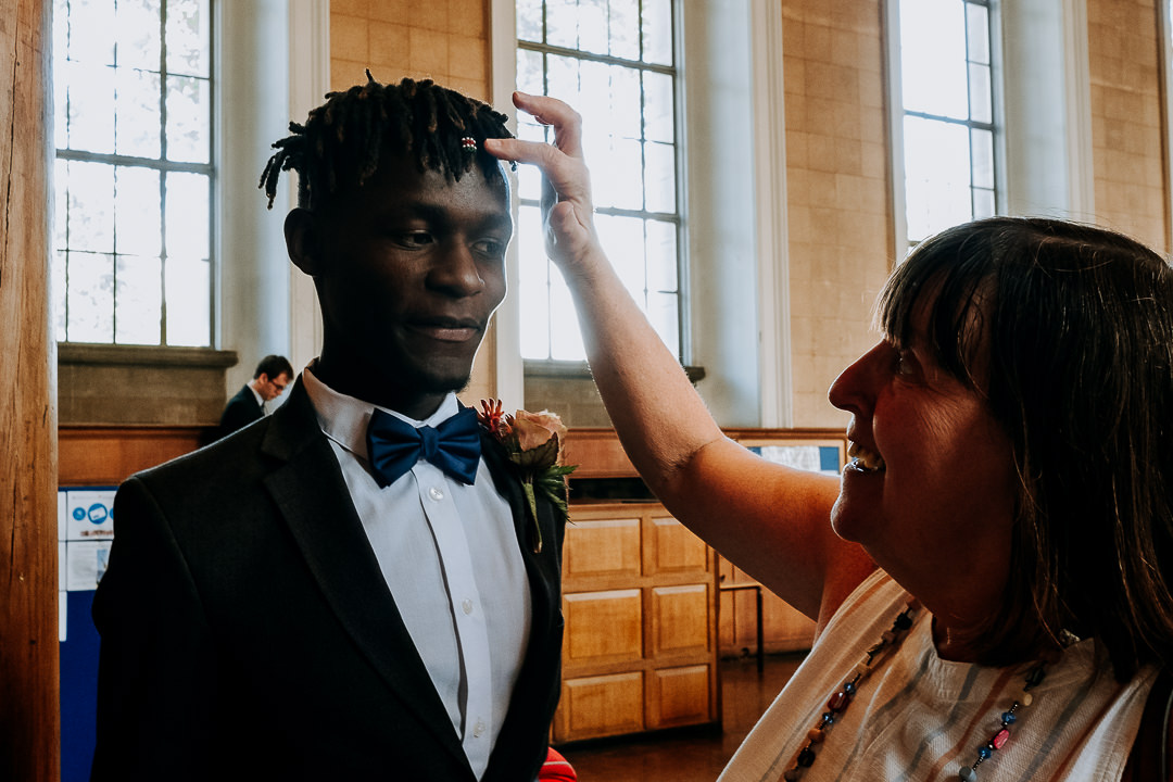 Goodenough College wedding Bloomsbury London