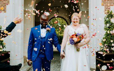 A joy filled British-Kenyan wedding at Goodenough College