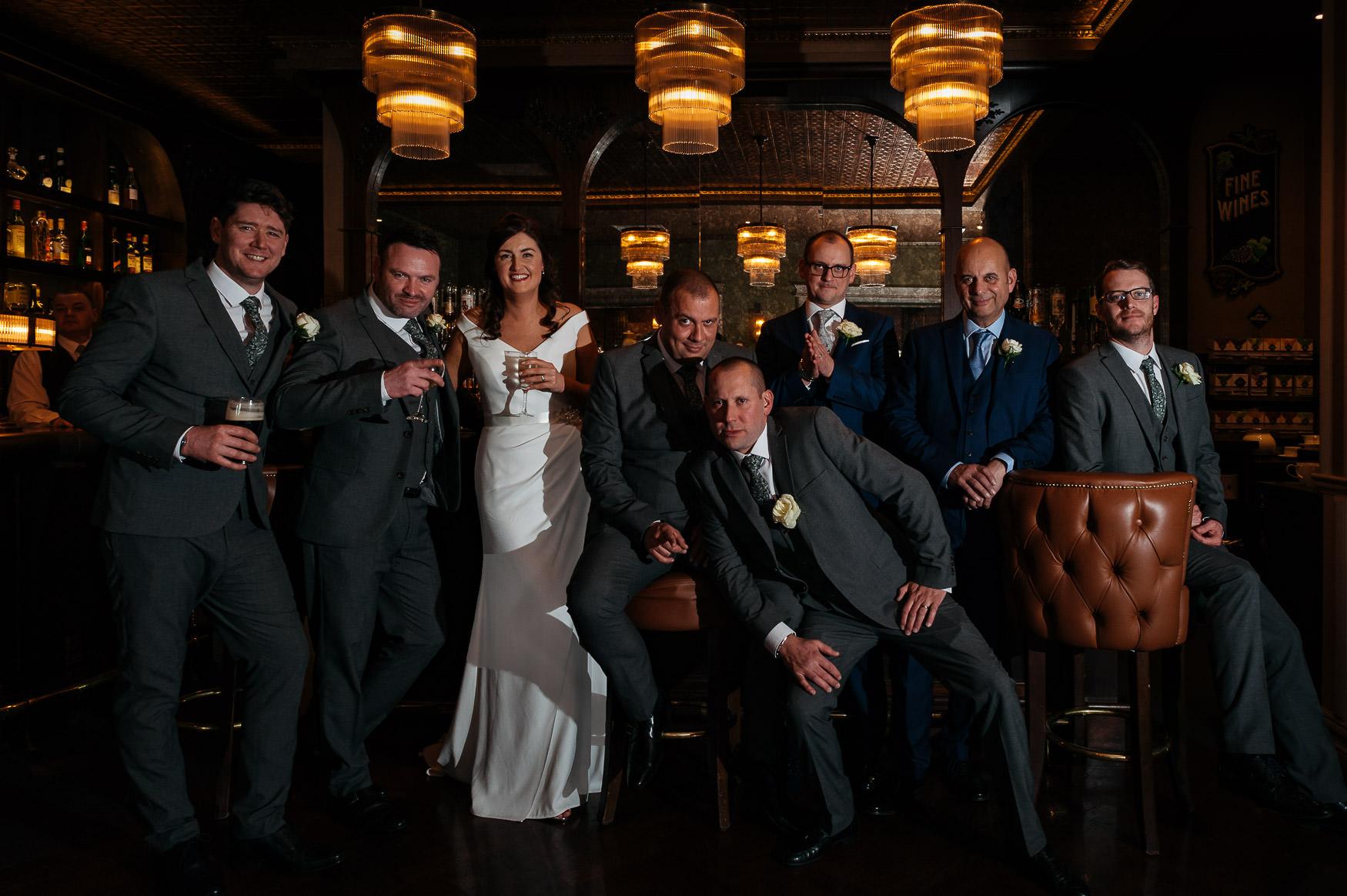 Irish-wedding-group-shot-shrinking-violet-photography