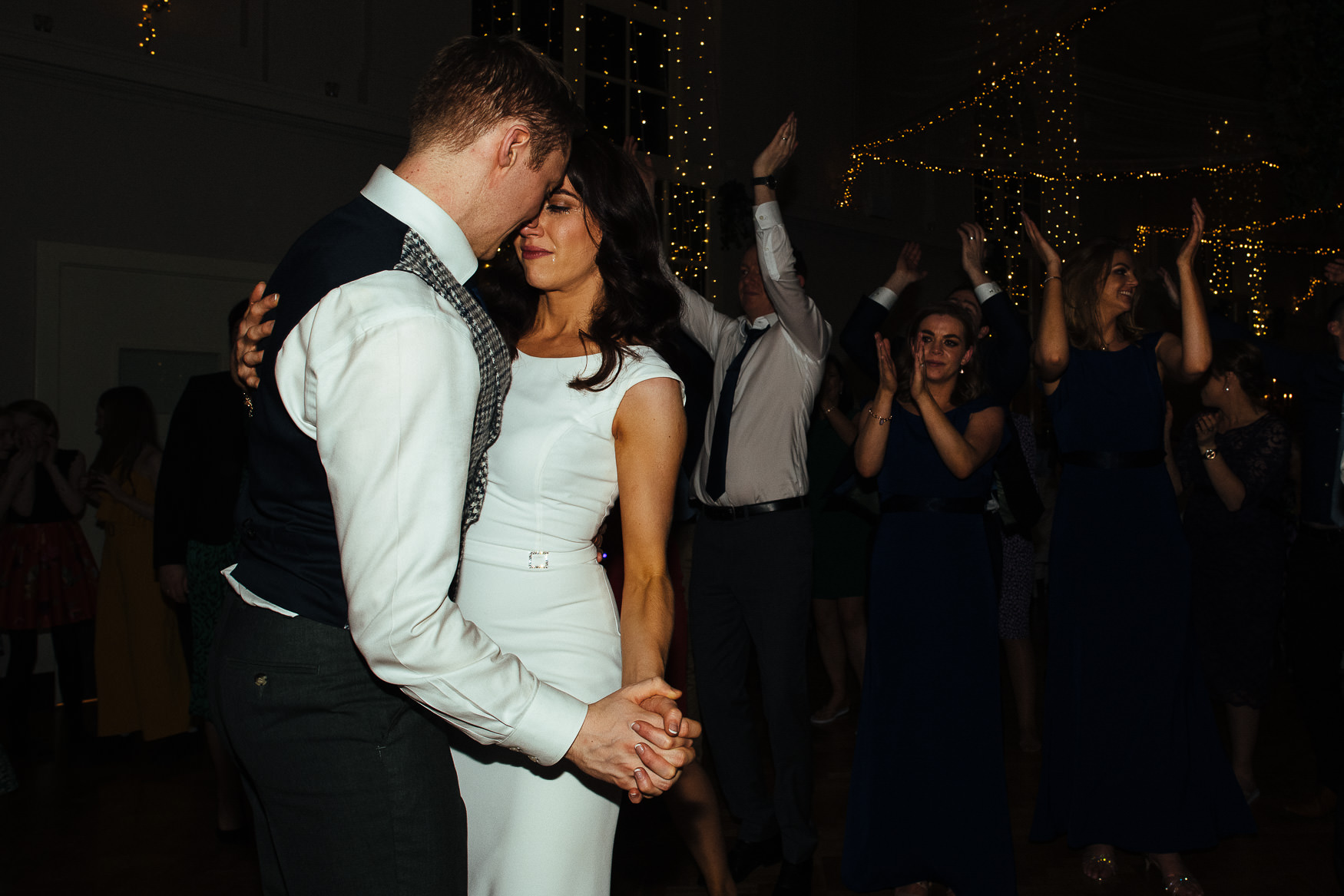 After-party at Kilshane House wedding