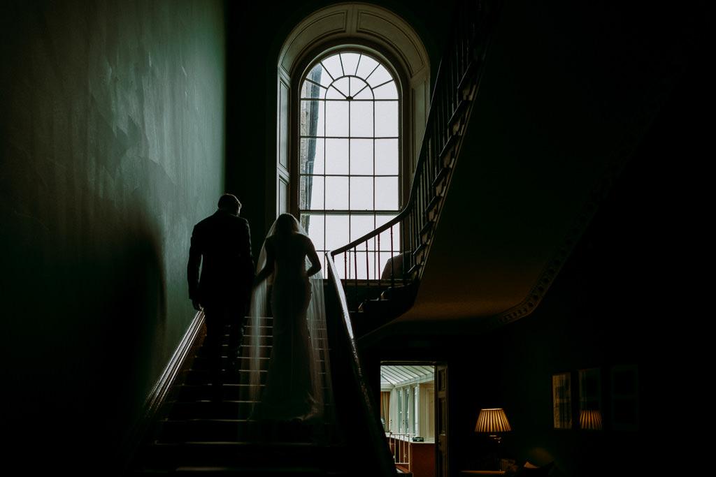 Kilshane House Tipperary wedding couple portrait