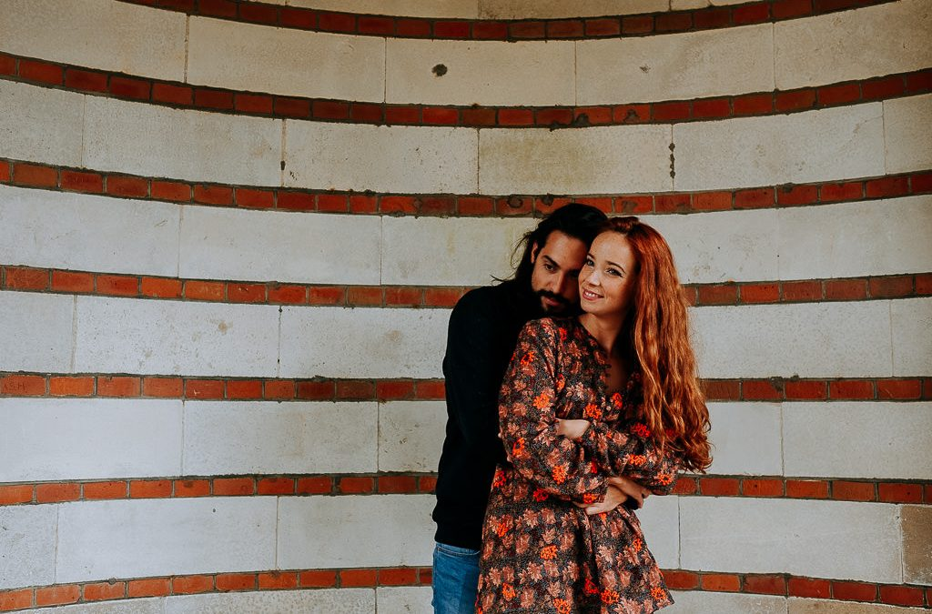 Hampstead Pergola Couple Shoot